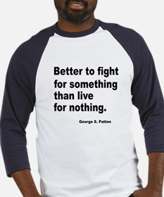 Fight for Something (Front) Baseball Jersey