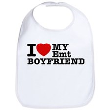 I Love My EMT Boyfriend Bib