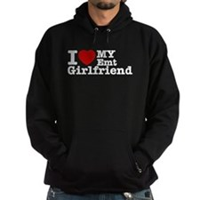 I Love My EMT Girlfriend Hoodie