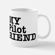 I Love My Pilot Boyfriend Mug