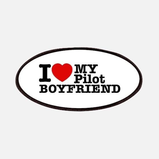 I Love My Pilot Boyfriend Patches