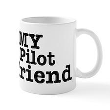 I Love My Pilot Girlfriend Mug