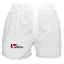 I Love My Seabee Boyfriend Boxer Shorts