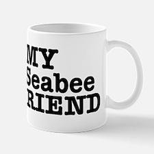 I Love My Seabee Boyfriend Mug