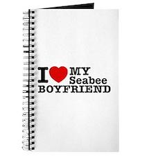 I Love My Seabee Boyfriend Journal