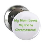 Mom Loves My Extra Chromosome Button