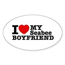 I Love My Seabee Boyfriend Decal