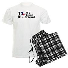 I Love My Texas Girlfriend Pajamas
