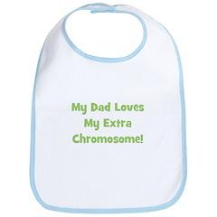 My Dad Loves My Extra Chromos Bib