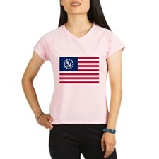 United States Yacht Flag Performance Dry T-Shirt