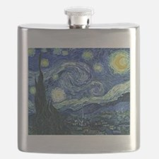 Van Gogh Starry Night Flask