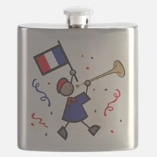 France Holiday Flask