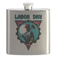 Labor Day Flask