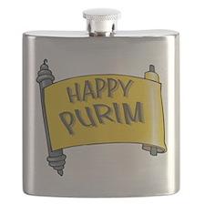 Happy Purim Flask