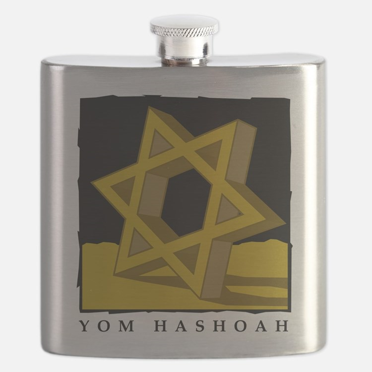 Yom HaShoah Flask