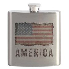 Vintage America Flask