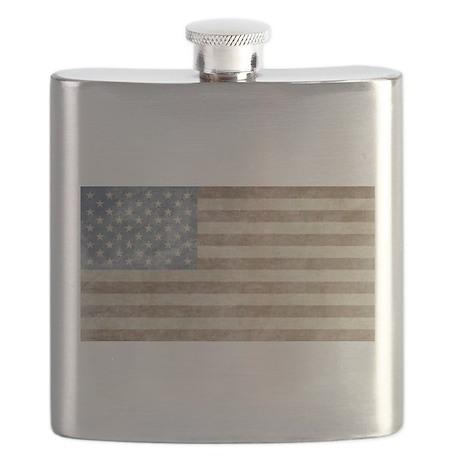 Vintage USA Flag Flask