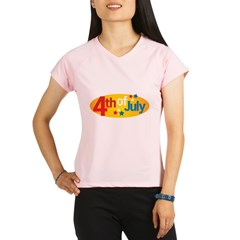 4th Of July Performance Dry T-Shirt