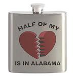 Heart In Alabama Flask