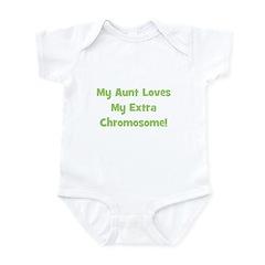 My Aunt Loves My Extra Chromo Infant Creeper