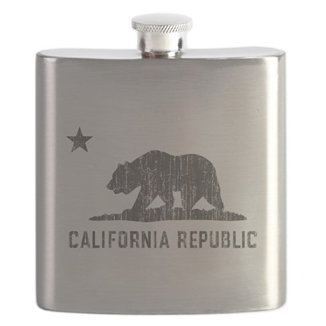 Vintage California Republic Flask