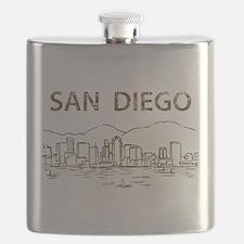 Vintage San Diego Flask