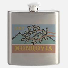 Monrovia Flag Flask