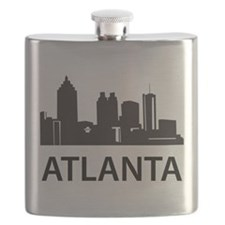 Atlanta Skyline Flask