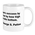 Patton's Measure of Success Mug