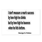 Patton's Measure of Success Postcards (Package of