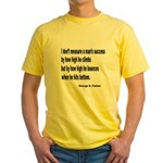 Patton's Measure of Success Yellow T-Shirt