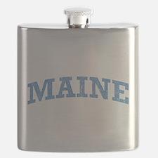 Vintage Maine Flask