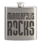 Minneapolis Rocks Flask