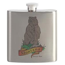 Montana Bear Flask