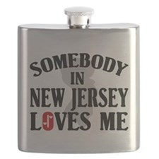 Somebody In New Jersey Flask