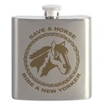 New Yorker Flask
