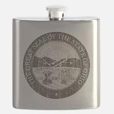 Vintage Ohio Seal Flask