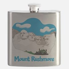Mount Rushmore Flask