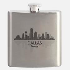 Dallas Skyline Flask