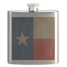 Vintage Texas Flag Flask
