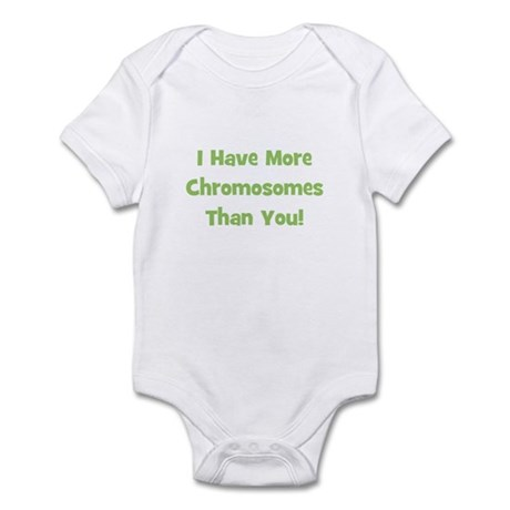 I Have More Chromosomes Than Infant Creeper