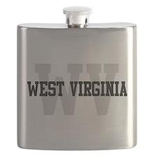 WV West Virginia Flask