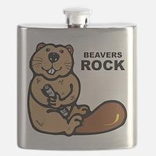 Beavers Rock Flask