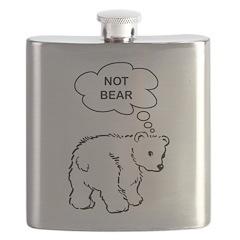 Not Bear Flask