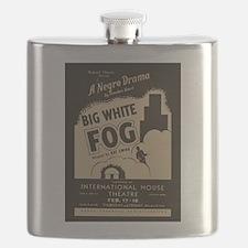 Big White Fog Flask