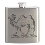 Camel Crest Flask