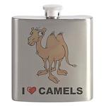 I Love Camels Flask