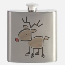 Reindeer Flask