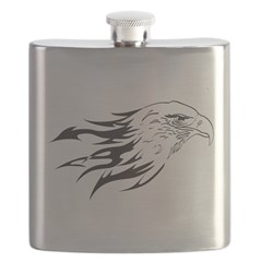 Flaming Eagle Flask