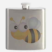Cute Bee Flask